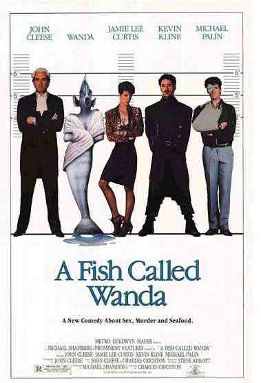 Poster for A Fish Called Wanda (1988)