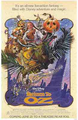 Return To Oz (1985) - Poster