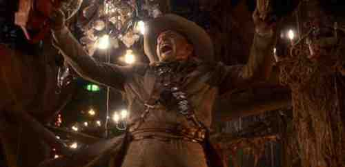 The Texas Chainsaw Massacre Part 2 (1986) - Dennis Hopper with a Chainsaw