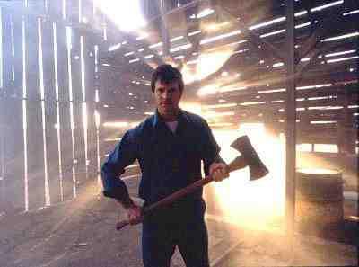 Bill Paxton as Dad Meiks in Frailty