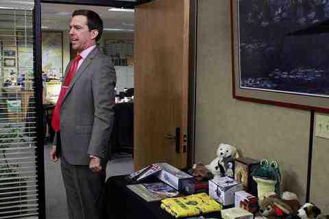 Ed Helms as Andy Bernard on The Office