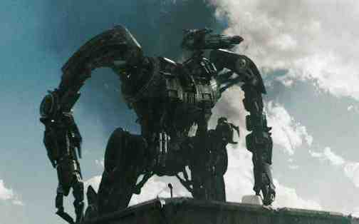 Robot from Terminator Salvation
