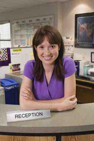 Elle Kemper as Erin on The Office