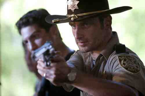 The Walking Dead Rick and Shane