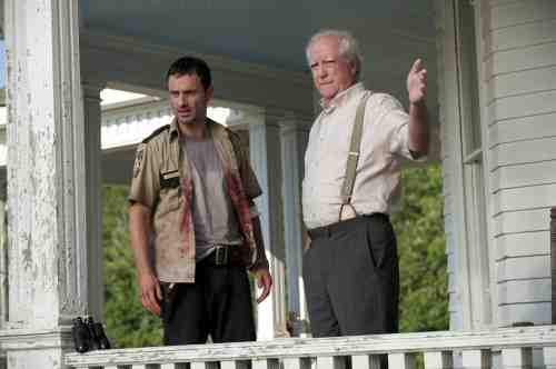 AMC's The Walking Dead Hershel and Rick