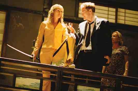 Uma Thurman as The Bride in Kill Bill