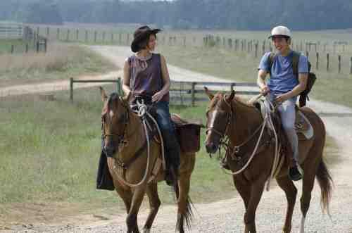 The Walking Dead Maggie and Glenn