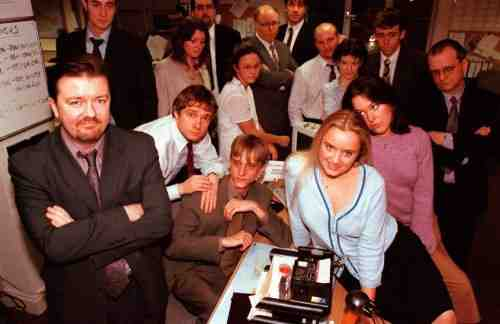 The Cast of the British Office