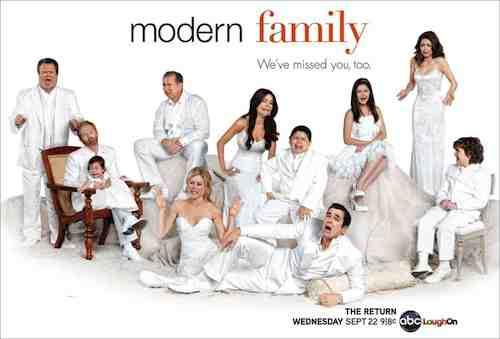 Modern Family enjoys its third season run on ABC