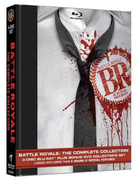 Battle Royale: The Complete Collection on Blu-Ray