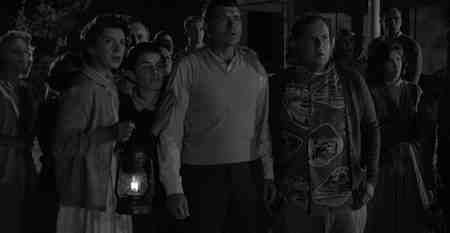 Claude Akins provides the moral center of The Monsters Are Due On Maple Street