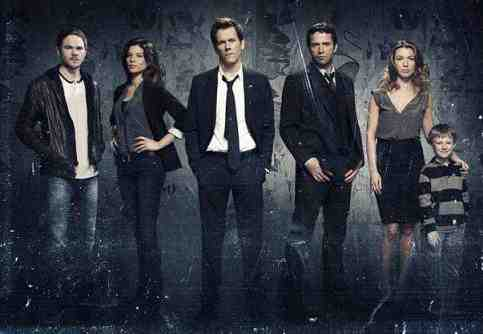 CAST of The Following: Kevin Bacon, James Purefoy, Shawn Ashmore, Jeannane Goossen, Natalie Zea and Kyle Cattlet