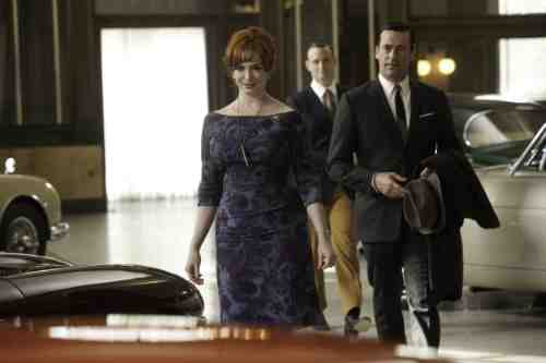 Mad Men Joan Don cars