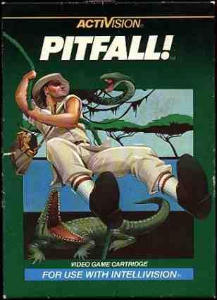 Pitfall Box Intellivision