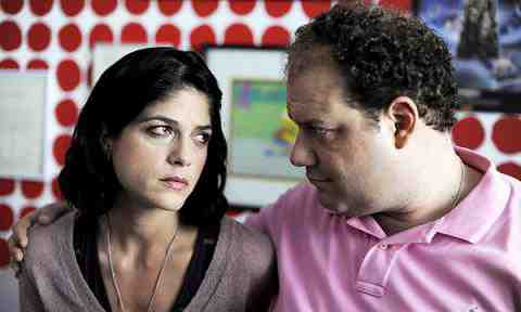 Selma Blair and Jordan Gelber in Dark Horse