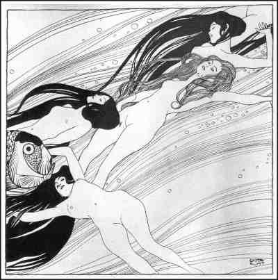 Gustav Klimt: Fish Blood