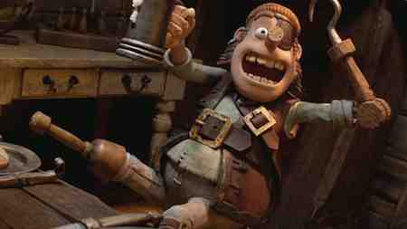 Aardman Animation scores big with Gideon Defoe's Pirates
