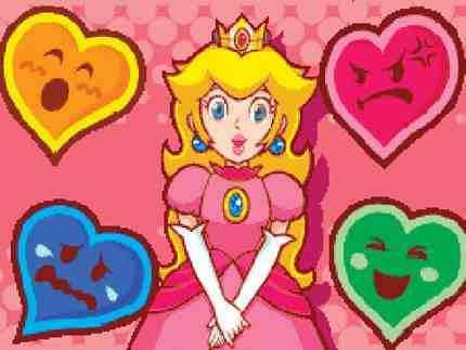 Peach's Vast Emotional Range