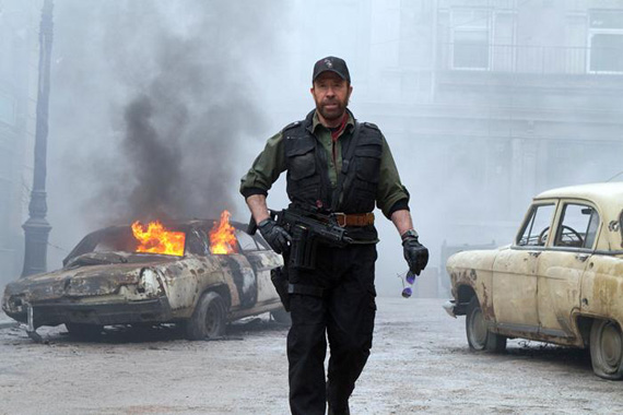 Movie still: The Expendables 2