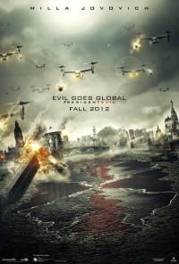 Resident Evil Retribution poster