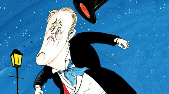 Poster: John Lithgow in The Magistrate