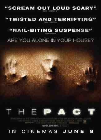 Nicholas McCarthy's The Pact promotional poster