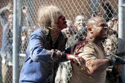 Walking Dead T Dog dies