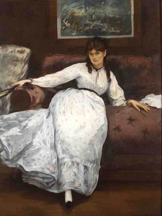 Édouard Manet: The Repose (Portrait of Berthe Morisot),