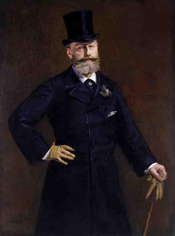 Édouard Manet: Portrait of Antonin Proust