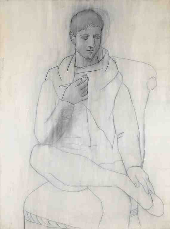 Picasso: Man With Pipe