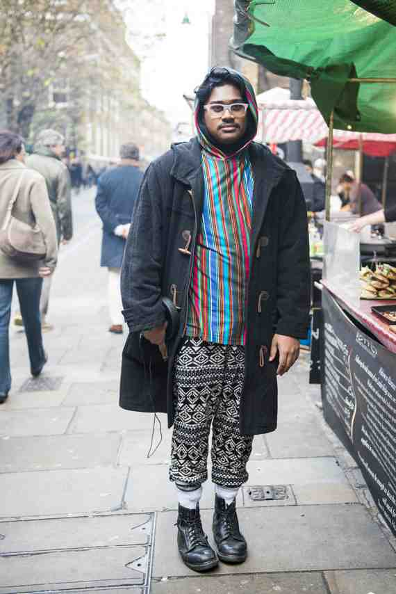 CLR Street Fashion: Mahatma in London 1