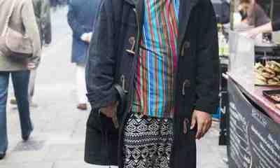 CLR Street Fashion: Mahatma in London 1