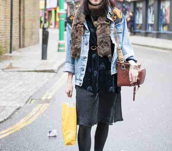 CLR Street Fashion: Rachel in London