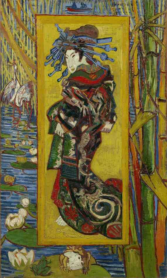 Vincent van Gogh: Courtesane: after Eise