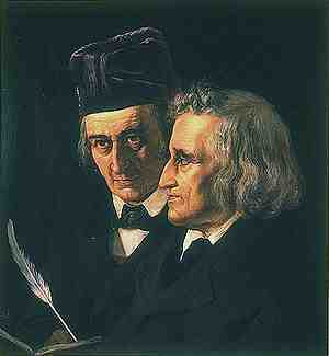 The Actual Grimm Brothers