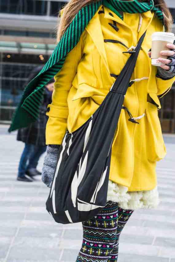 CLR Street Fashion: Black Friday 1869 coat, Topshop skirt