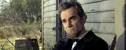 LINCOLN, Daniel Day-Lewis as President Abraham Lincoln, 2012.
