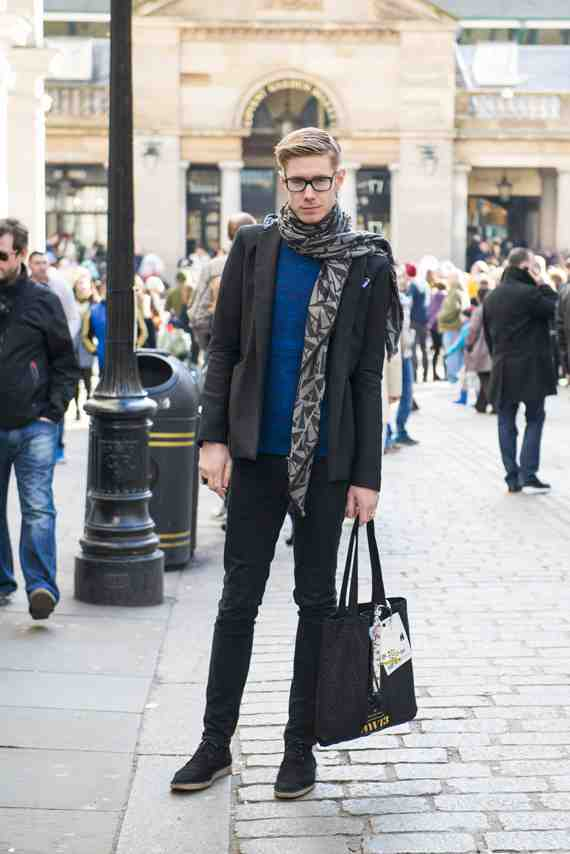 CLR Street Fashion: Bradley, London Fashion Week