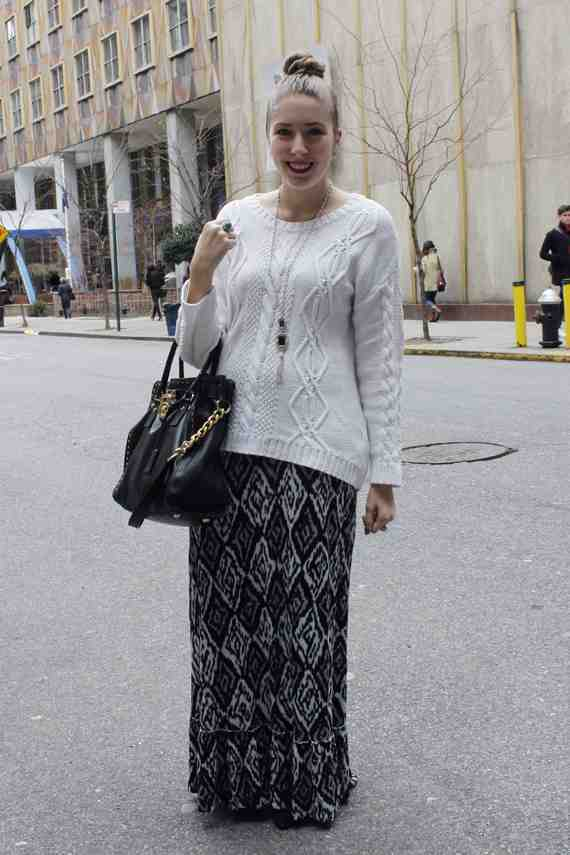 CLR Street Fashion: Kim in New York City