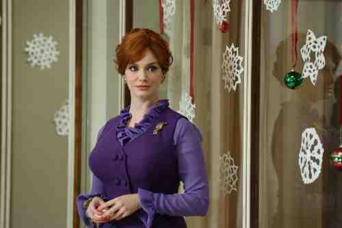 Mad Men Season 6 Premiere Joan Holloway Harris