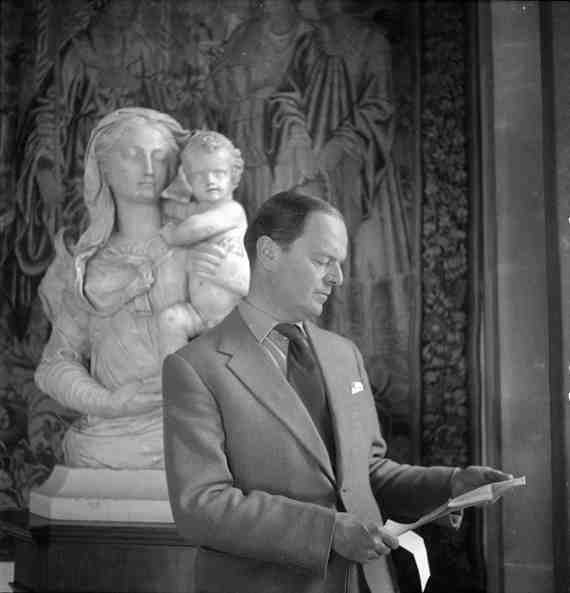 Kenneth Clark photographed by Cecil Beaton