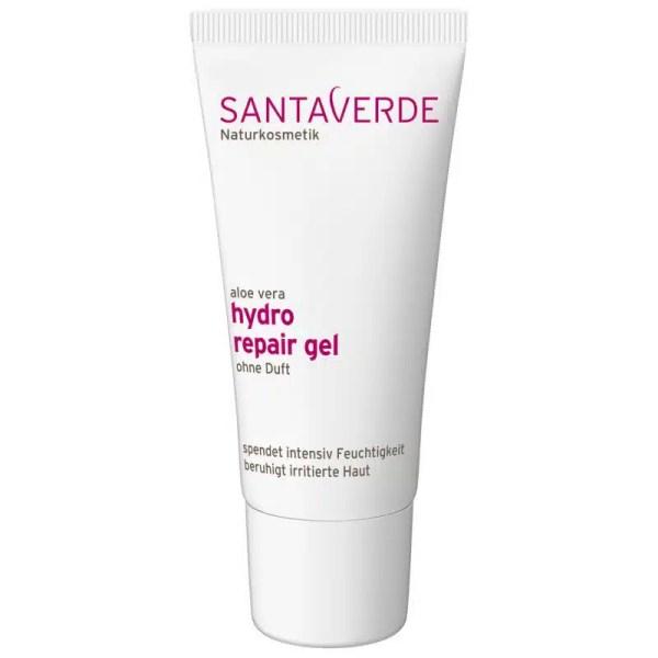 Santaverde Aloe hydro repair gel ohne Duft vegan Naturkosmetik