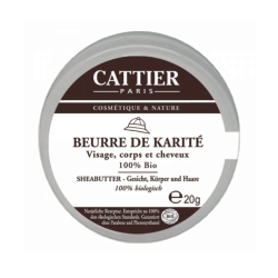 Cattier Sheabutter 100% 20g