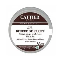 Cattier Sheabutter 100% 20g