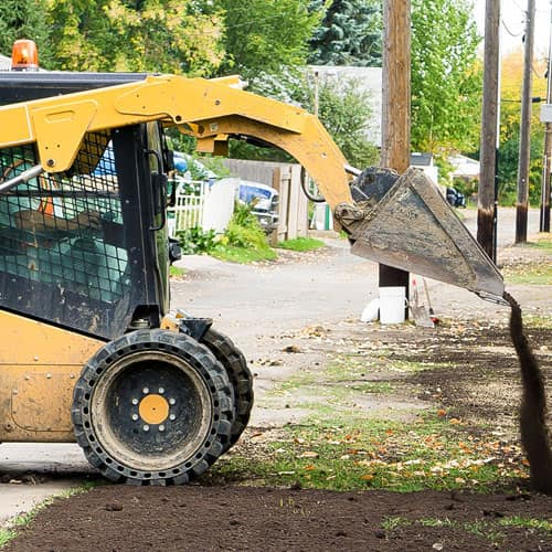 Grading, Light Demolition & Bobcat Services