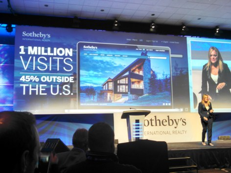 Sotheby's International Realty CMO Wendy Purvey #MakingStatementsGlobally #GNE2014 #Fontainebleau #Miami