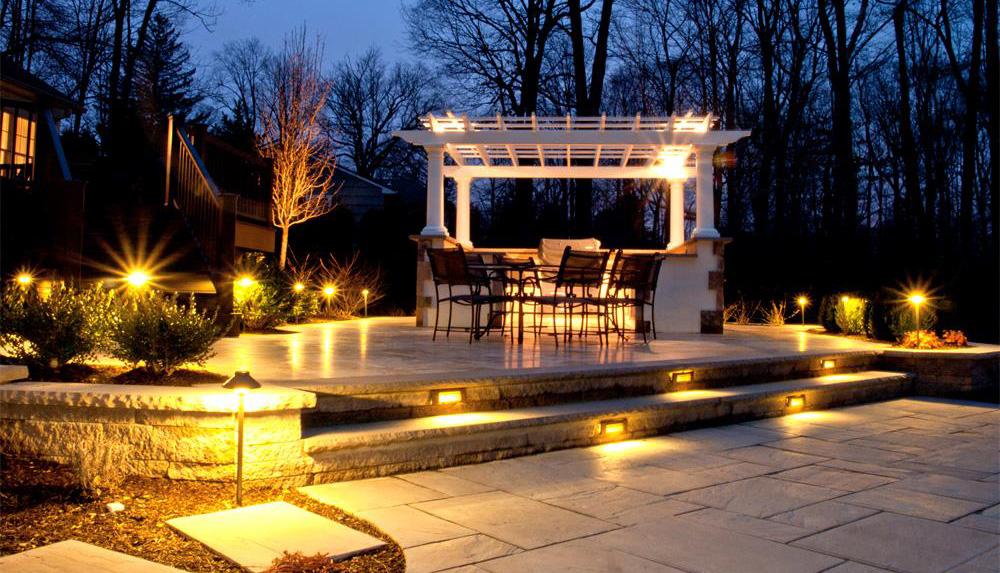 custom outdoor lighting dalton ga