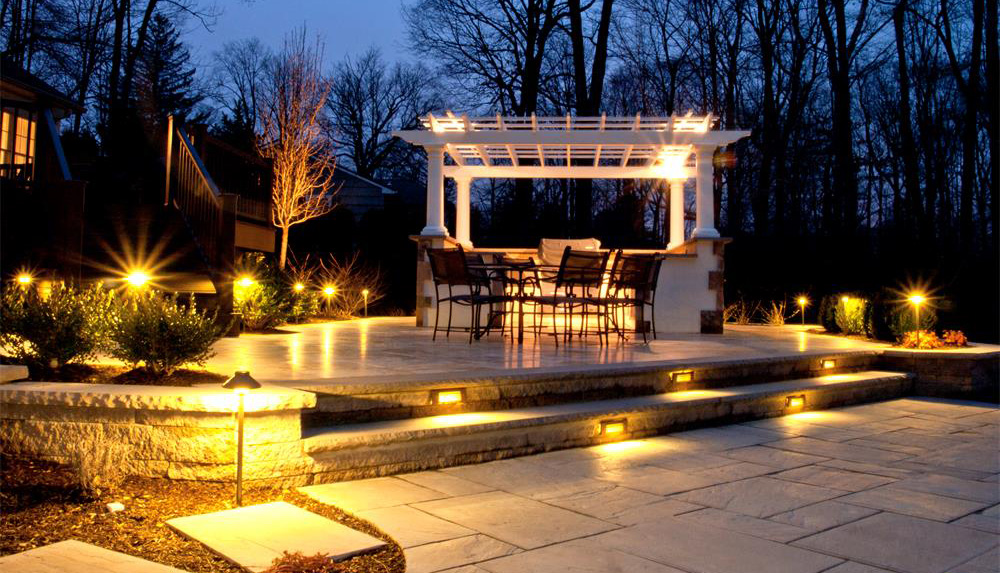 custom outdoor lighting dalton ga