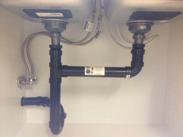 kitchen sink installation callaway
