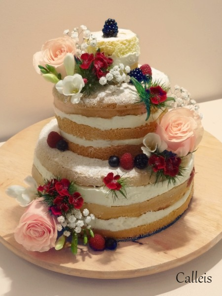 Naked cake, ou le gateau tout nu | 1001-Ateliers.com